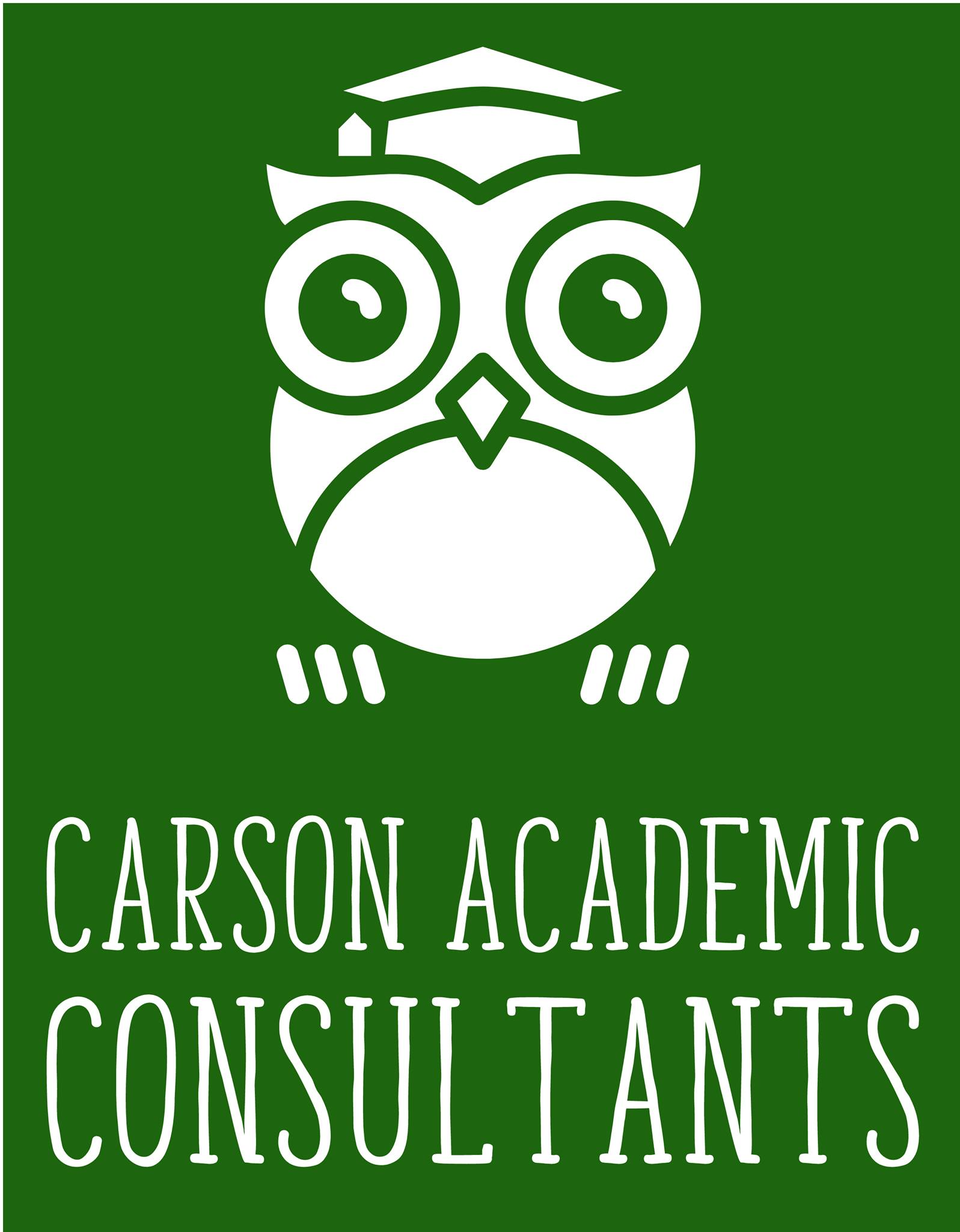 Green and white logo of an owl with a graduation cap and the text