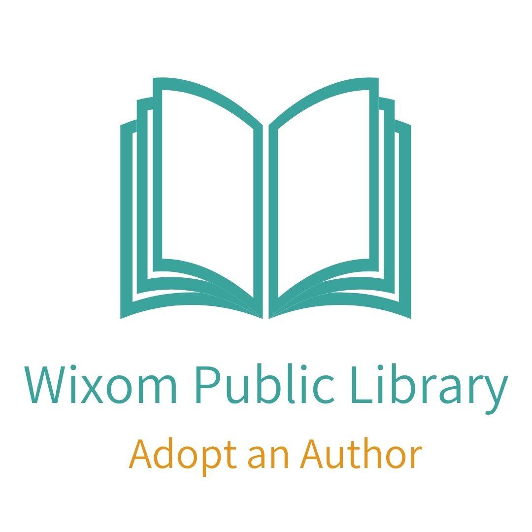Adopt an Author text and symbol