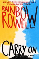 Carry On by Rainbow Rowell cover