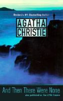 And Then There Were None by Agatha Christie cover