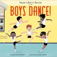 book cover of Boys Dance by John Robert Allman depicting five boys dancing