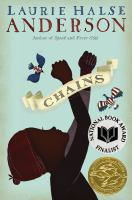 Chains by Laurie Halse Anderson cover