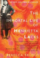 The Immortal Life of Henrietta Lacks by Rebecca Skloot cover
