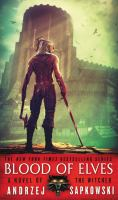 Blood of Elves by Andrzej Sapkowski cover