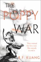The Poppy War by R.F. Kuang cover