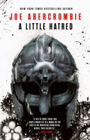 A Little Hatred by Joe Abercrombie cover
