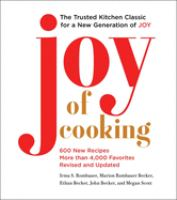 Joy of Cooking by Irma S. Rombauer cover