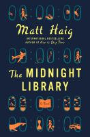 The Midnight Library by Matt Haig cover