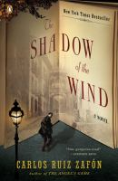 Shadow of the Wind by Carlos Ruiz Zafon cover