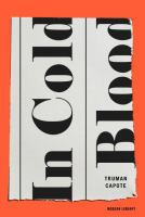 In Cold Blood by Truman Capote cover