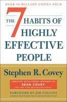 7 Habits of Highly Effective People by Stephen Covey cover