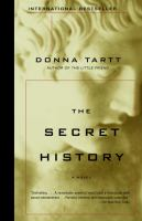 Secret History by Donna Tartt cover
