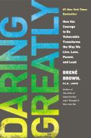 Daring Greatly by Brené Brown COVER
