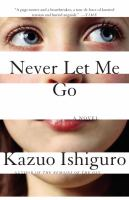 Never Let Me Go by Kazuo Ishiguro cover