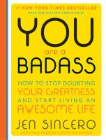 You Are a Badass by Jen Sincero cover