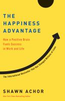 The Happiness Advantage by Shawn Achor cover
