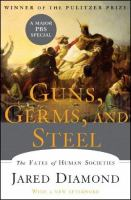 Guns, Germs and Steel by Jared Diamond cover