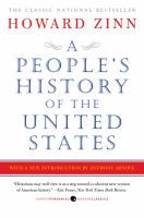 A People's History of the United States by Howard Zinn cover