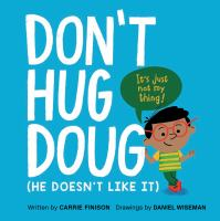 Don't Hug Doug by Carrie Finison cover