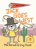 Jack Goes West by Mac Barnett cover