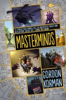 Masterminds by Gordan Korman cover