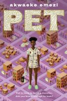 Pet by Akwaeke Emezi cover