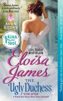 The Ugly Duchess by Eloisa James cover